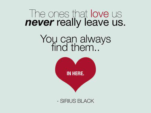 The ones we love never truly leave us The Magic Word